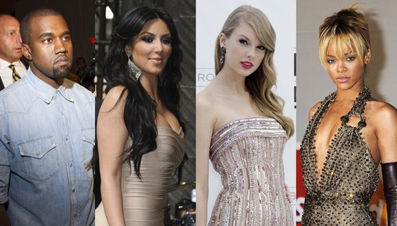 "Taylor Swift, Kim Kardashian y Rihanna, ""desnudas"" en video"