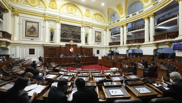La agenda del pleno del Congreso tiene previsto debatir dos mociones de censura en contra de la presidenta del Congreso, María del Carmen Alva. (Foto: Congreso de la República)