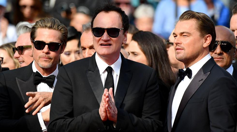 "Estreno de ""Once Upon a Time in Hollywood"" en Cannes 2019. (Foto: Agencias)"