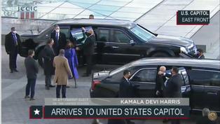 Así llegó Joe Biden al Capitolio para dar inicio a la jornada de investidura
