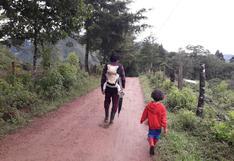 Periodista dejó el caos y la pandemia en Lima y se mudó a la paz de Oxapampa por sus hijos