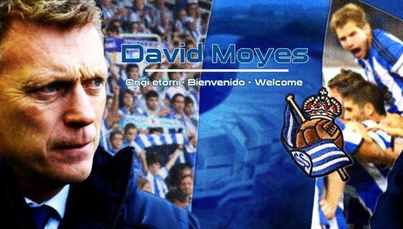 Liga BBVA: Moyes dirigirá a la Real Sociedad hasta el 2016