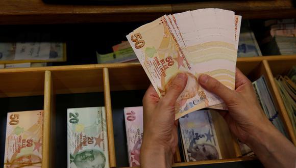 La lira turca tocó su piso histórico tras las declaraciones de Trump. (Foto: Reuters)