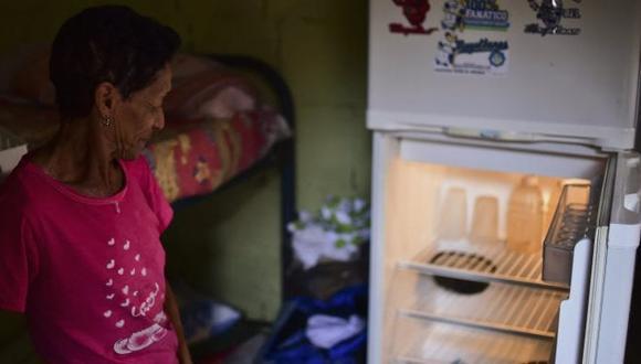En Venezuela la única nevera llena es la de la morgue. Foto: AFP, vía El Nacional/ GDA