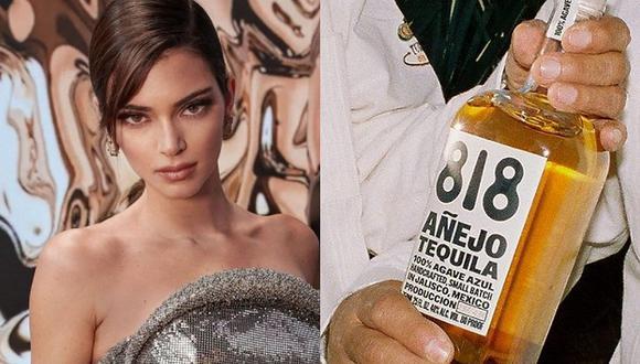 Kendall Jenner conquista las pasarelas mundiales desde hace años, pero ahora quiere ganarse un lugar en la industria tequilera. (Foto: @kendalljenner @drink818 / Instagram)