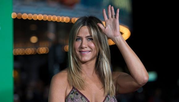 Jennifer Aniston pide el uso responsable de las mascarillas en tiempos de COVID-19. (Foto: AFP)