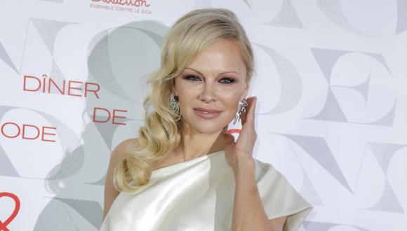 The Hollywood Reporter anunció la reciente boda de Pamela Anderson. (Foto: AFP)
