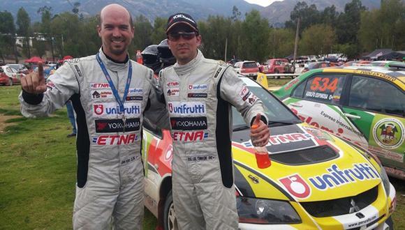 Rally Nacional:José Luis Tommasini se coronó bicampeón nacional