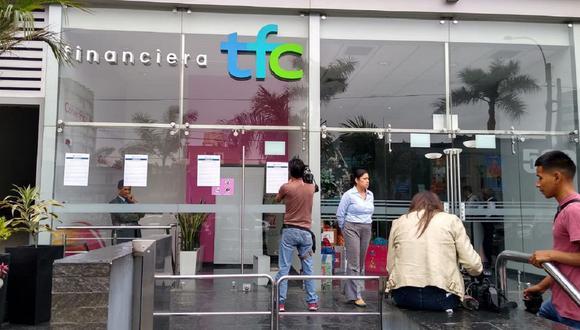La SBS intervino a TFC y ordenó su cierre definitivo, debido a que la entidad redujo en más del 50% el valor de su patrimonio efectivo en el último año. (Foto: El Comercio)