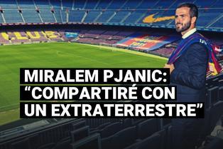 """Pjanic, sobre jugar con Messi: """"Tengo la oportunidad de compartir con un extraterrestre"""""""