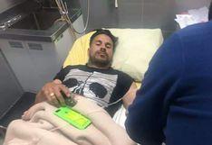 Binacional: Juan Pablo Vergara tuvo que ser operado, mientras que Donald Millán y Jefferson Collazos salieron ilesos del accidente en Juliaca
