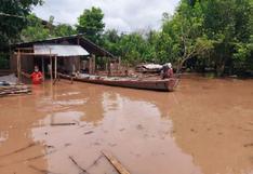 Huánuco: Más de 100 viviendas inundadas tras desborde del río Pachitea