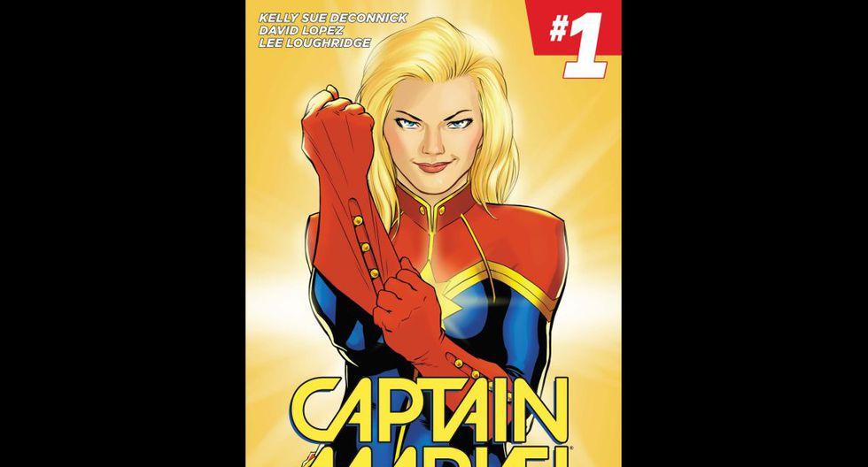 """""""Captain Marvel Vol. 1: Higher, Further, Faster, More"""" (2014) - Las nuevas aventuras de Carol Danvers como la Capitana Marvel. (Fuente: Marvel)"""