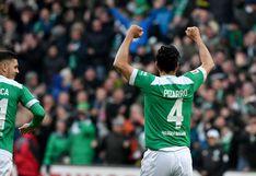 Claudio Pizarro agradece a hinchas de Werder Bremen por la reacción tras su renovación