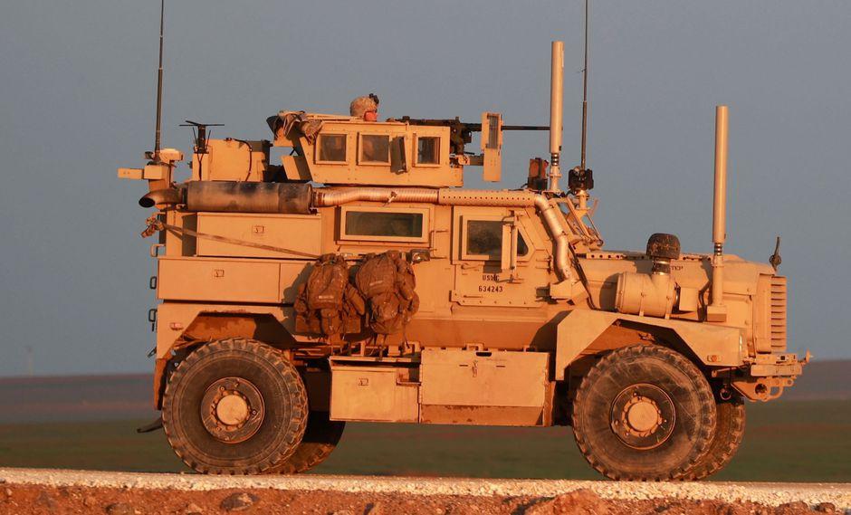 Guerra en Siria: El repliegue de Estados Unidos marca un vuelco en la estrategia militar en Medio Oriente. (AFP).