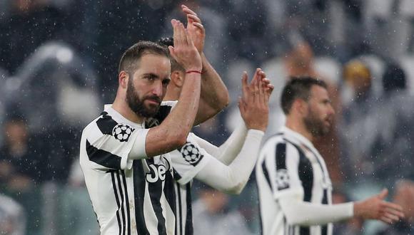 Gonzalo Higuaín negocia su salida de la Juventus. (Foto: AFP)