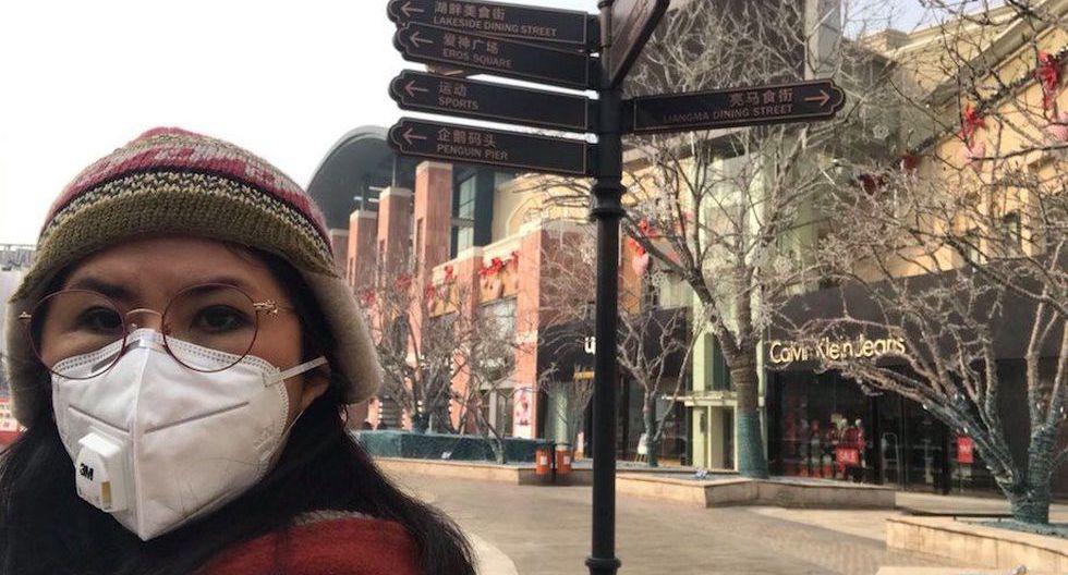 La periodista peruana Patricia Castro Obando cuenta a El Comercio cómo vive la cuarentena en Beijing por el cortonavirus.