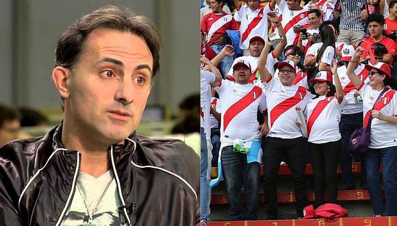 Diego Latorre ha comentado en los últimos días los partidos de los clubes peruanos en la Copa Libertadores. Formará parte de un seminario taller de periodismo deportivo para colegas peruanos. FOTO: GEC.