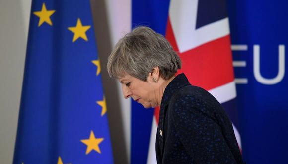 Brexit: Theresa May renunciaría a su cargo si partidarios votan a favor de su acuerdo. (Reuters)