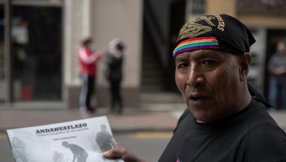 Jesús Daniel Jarata fue sentenciado por los graves hechos de violencia del 'andahuaylazo', donde murieron baleados cuatro policías. Salió de prisión luego de 16 años (Foto: Renzo Salazar)