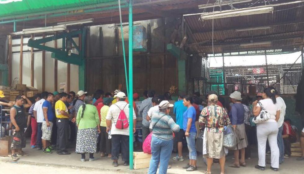 Comerciantes atrincherados en La Parada ahora piden diálogo - 1