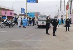 Callao: hombre fue asesinado a balazos en el interior de una combi