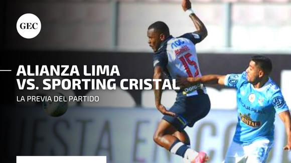 All the details of the finals between Alianza Lima vs.  Sporting Cristal