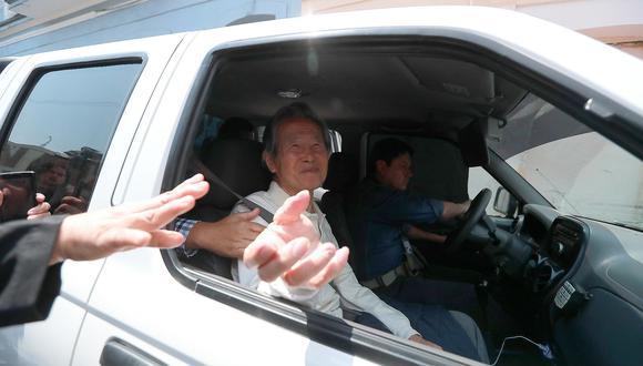 Como se recuerda, Pedro Pablo Kuczynski (PPK) le otorgó un indulto humanitario al condenado ex presidente  Alberto Fujimori el 24 de diciembre del 2017. (Foto: Archivo El Comercio)