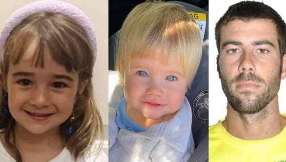 Olivia, Anna y Tomás Gimeno desaparecieron el 27 de abril en Tenerife, España. (SOSDESAPARECIDOS).