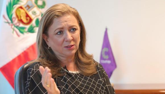 María Isabel León, presidente de Confiep (Foto: Difusión)