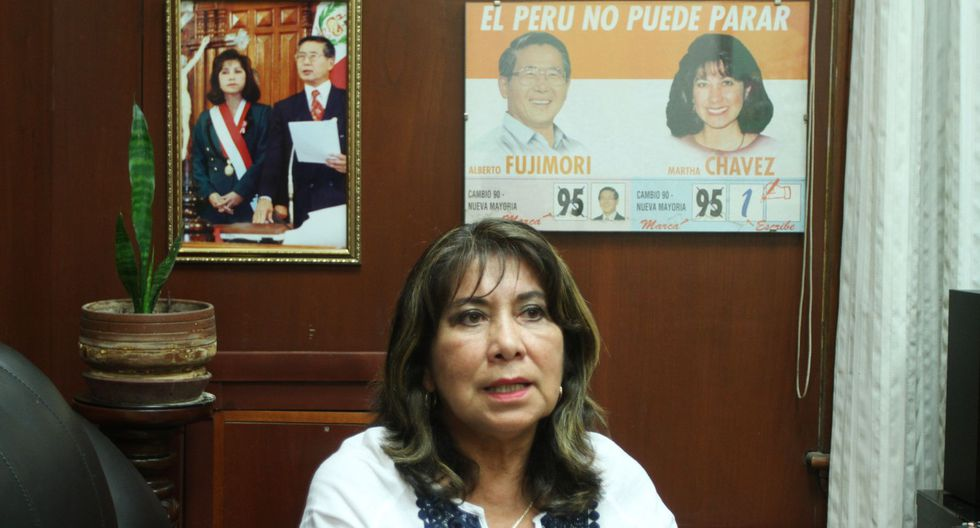 Martha Chávez, una de las principales representantes del fujimorismo, fue elegida para encabezar la lista por Lima de Fuerza Popular. (Foto:GEC)