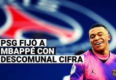 Kylian Mbappé ya tiene precio: PSG fijó a su estrella con una descomunal cifra