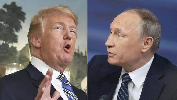 Donald Trump confirma retiro de Estados Unidos de tratado de armas nucleares con Rusia. (AFP)