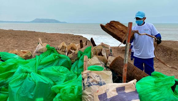 La multa es de hasta S/6.600 soles a aquellas personas que arrojan basura o desmonte en las playas y la zona ribereña de la Costa Verde. (Foto: Municipalidad de Magdalena del Mar)