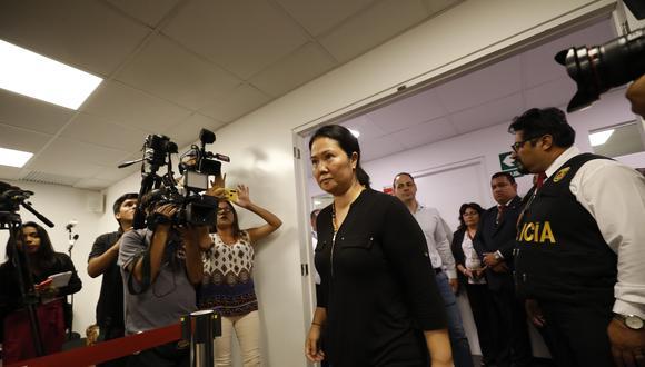 De las catorce recusaciones presentadas por Keiko Fujimori y los coinvestigados en su caso, solo una prosperó: la de Jaime Yoshiyama contra el juez Richard Concepción. (Piko Tamashiro/Archivo)