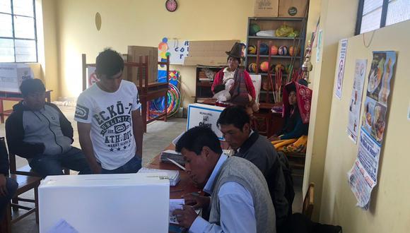 Elecciones 2018: se instalan 1.945 mesas de sufragio en Áncash