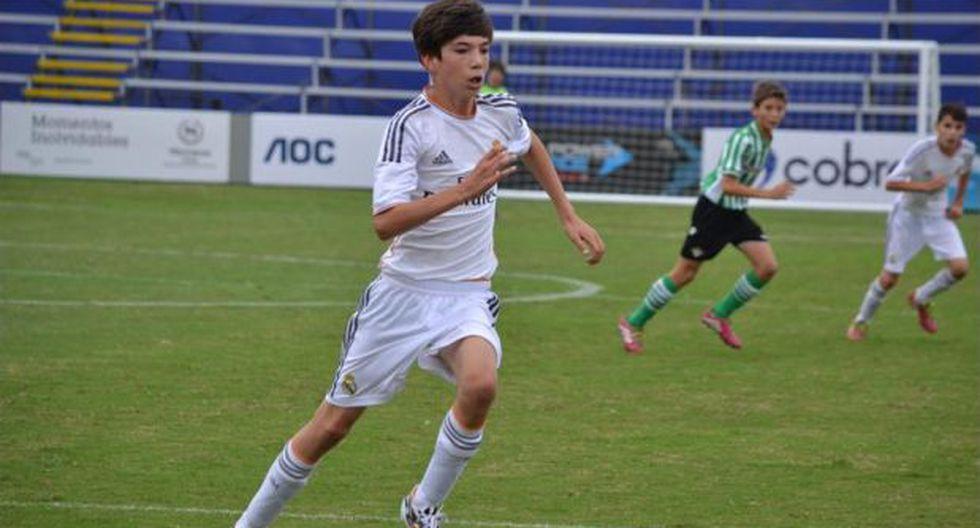 Hijo de Zidane marcó gol en torneo Sub 12 disputado en Perú - 2