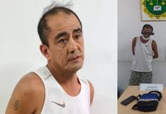 Trujillo: 'Cara cortada' cayó con droga e intentó agredir a un policía durante su captura | VIDEO