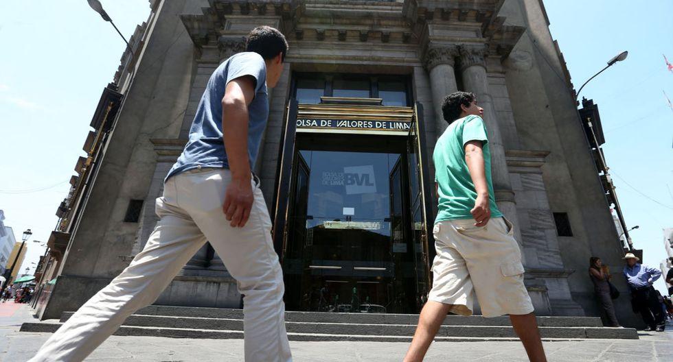 El Índice Selectivo subía 0.10% a 498.12 puntos. (Foto: Andina)