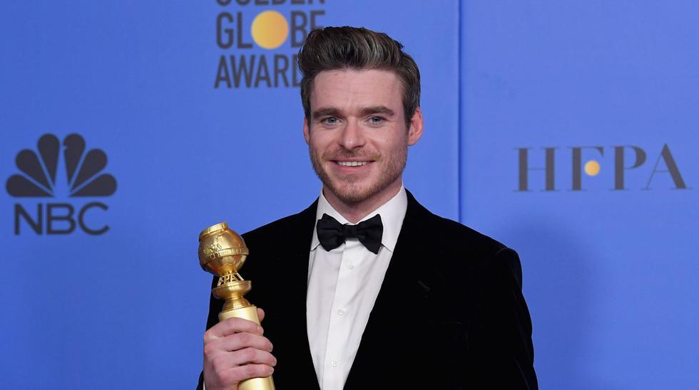 Richard Madden ganó el premio a Mejor actor de serie drama. (Foto: Agencias)