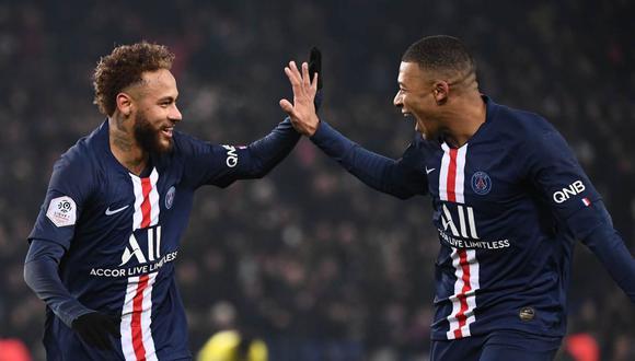 Mauricio Pochettino confía en la continuidad de Neymar y Kylian Mbappé en PSG. (Foto: AFP)