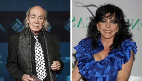 Cuando Manuel El Loco Valdés y Verónica Castro se conocieron, la actriz tenía 19 años de edad y él 41, pero a pesar de eso, el amor surgió (Foto: Televisa)