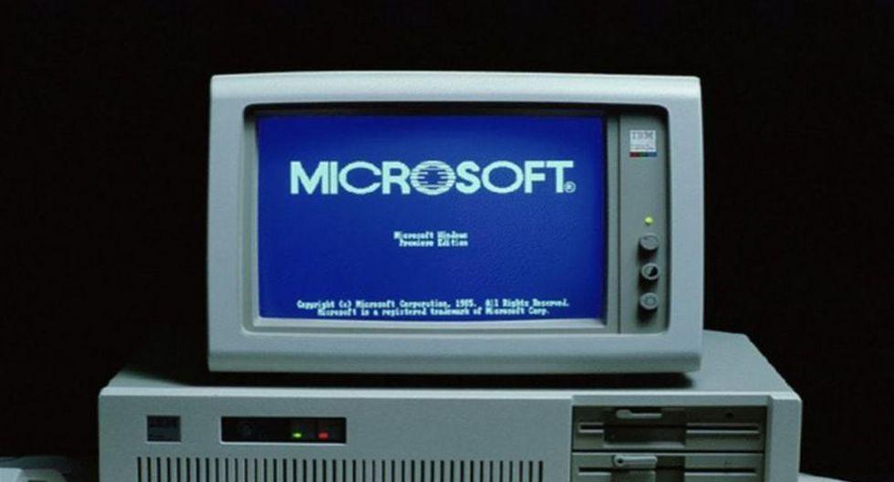 Microsoft: así fue la evolución de Windows en 30 años - 1