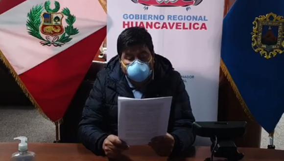 Gobernador de Huancavelica decidió permitir el ingreso de personas a su región. (Foto: Facebook Gore Huancavelica)