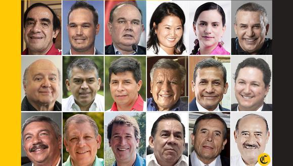 Los candidatos presidenciales presentaron sus propuestas y se lanzaron pullas durante las tres jornadas de debate organizadas por el JNE. (Imagen: El Comercio)
