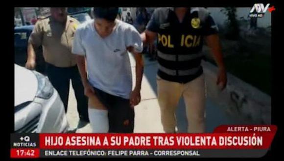 Carlos Cruz Zapata asesinó a su padre al ver que su madre era agredida. (ATV+)