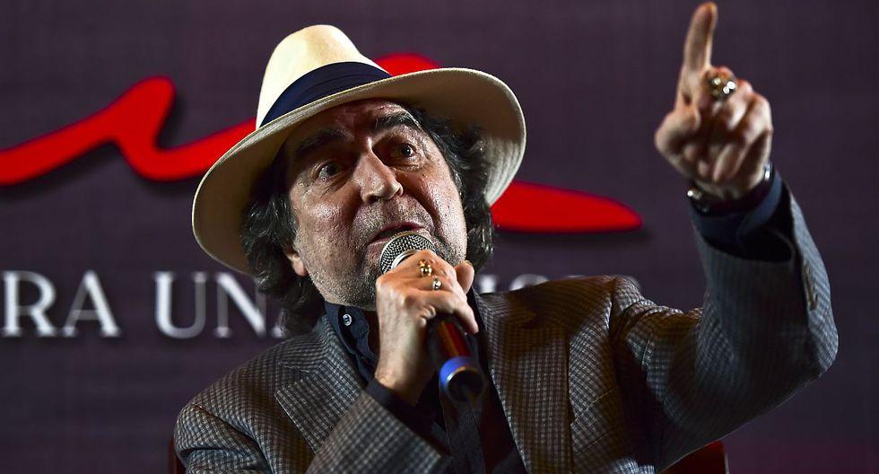 Finaliza satisfactoriamente la operación de Joaquín Sabina por un coágulo. (Foto: AFP)