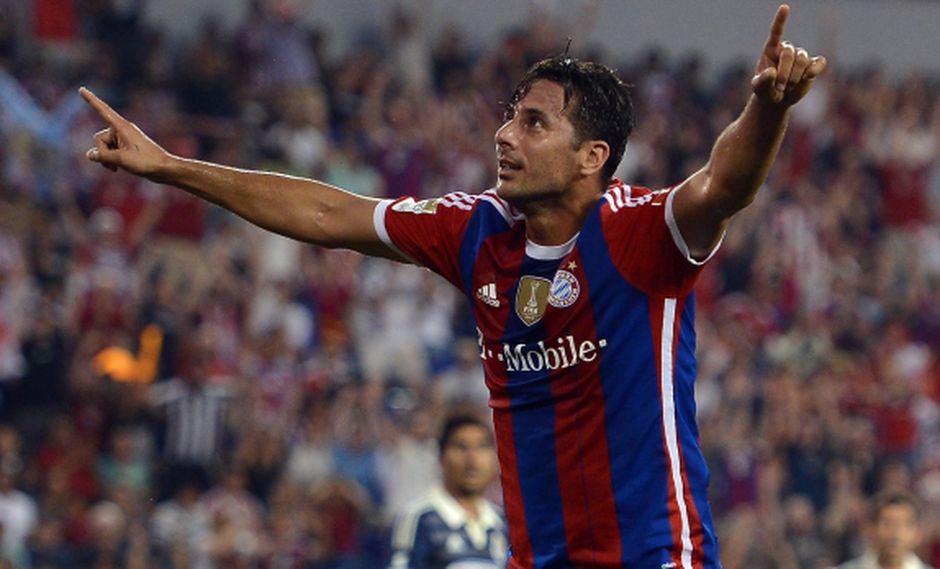 Claudio Pizarro, el extranjero con más títulos en Bayern Múnich
