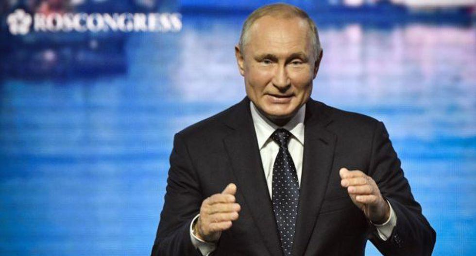 El mandatario de Rusia dijo que temía que una carrera armamentista se ampliara hacia el espacio. (Foto: AFP)