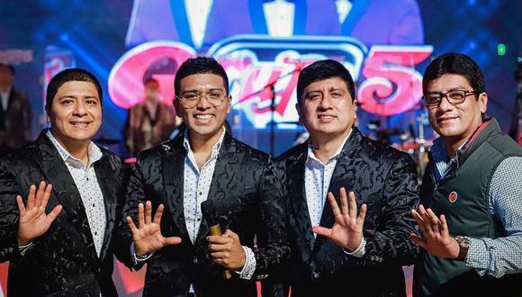 """La orquesta de cumbia Grupo 5 pidió a su público que apoyen a la noble causa que es organizada por """"Respira Monsefú"""". (Foto: Archivo / GEC)"""